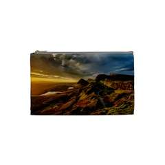 Scotland Landscape Scenic Mountains Cosmetic Bag (Small)