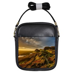 Scotland Landscape Scenic Mountains Girls Sling Bags