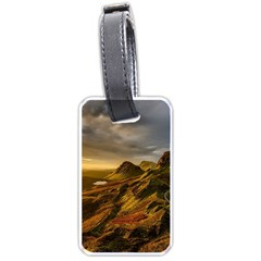 Scotland Landscape Scenic Mountains Luggage Tags (Two Sides)