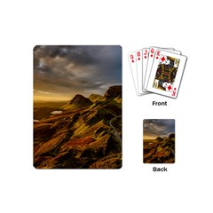 Scotland Landscape Scenic Mountains Playing Cards (Mini)