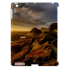 Scotland Landscape Scenic Mountains Apple iPad 3/4 Hardshell Case (Compatible with Smart Cover)