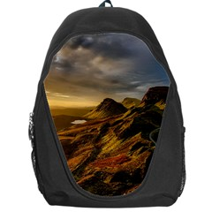 Scotland Landscape Scenic Mountains Backpack Bag