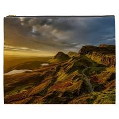 Scotland Landscape Scenic Mountains Cosmetic Bag (XXXL)