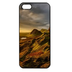 Scotland Landscape Scenic Mountains Apple iPhone 5 Seamless Case (Black)