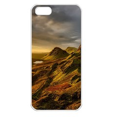 Scotland Landscape Scenic Mountains Apple iPhone 5 Seamless Case (White)