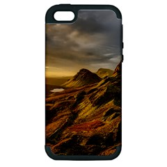 Scotland Landscape Scenic Mountains Apple iPhone 5 Hardshell Case (PC+Silicone)