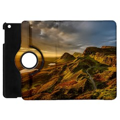 Scotland Landscape Scenic Mountains Apple iPad Mini Flip 360 Case