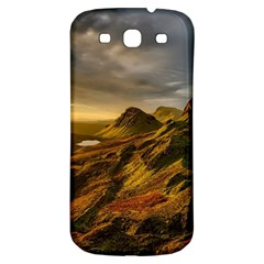 Scotland Landscape Scenic Mountains Samsung Galaxy S3 S III Classic Hardshell Back Case