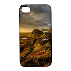 Scotland Landscape Scenic Mountains Apple iPhone 4/4S Hardshell Case with Stand