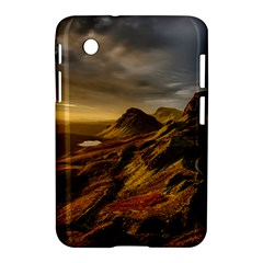 Scotland Landscape Scenic Mountains Samsung Galaxy Tab 2 (7 ) P3100 Hardshell Case