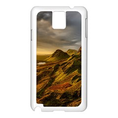 Scotland Landscape Scenic Mountains Samsung Galaxy Note 3 N9005 Case (White)