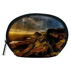 Scotland Landscape Scenic Mountains Accessory Pouches (Medium)
