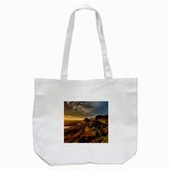 Scotland Landscape Scenic Mountains Tote Bag (White)