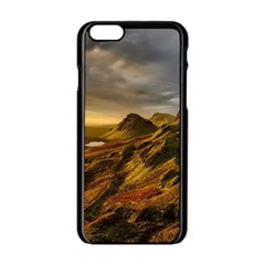 Scotland Landscape Scenic Mountains Apple iPhone 6/6S Black Enamel Case