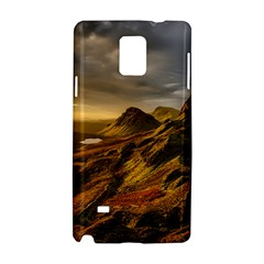 Scotland Landscape Scenic Mountains Samsung Galaxy Note 4 Hardshell Case
