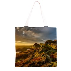 Scotland Landscape Scenic Mountains Grocery Light Tote Bag