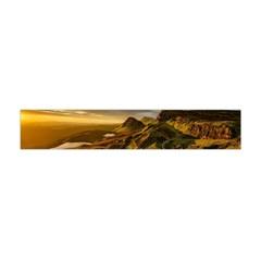 Scotland Landscape Scenic Mountains Flano Scarf (Mini)