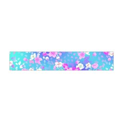colorful pastel  flowers Flano Scarf (Mini)