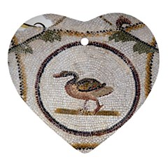 Sousse Mosaic Xenia Patterns Ornament (Heart)