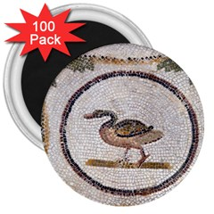 Sousse Mosaic Xenia Patterns 3  Magnets (100 pack)