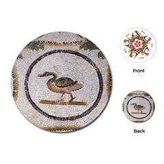 Sousse Mosaic Xenia Patterns Playing Cards (Round)