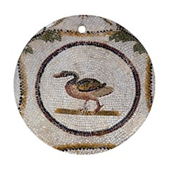 Sousse Mosaic Xenia Patterns Round Ornament (Two Sides)