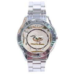 Sousse Mosaic Xenia Patterns Stainless Steel Analogue Watch