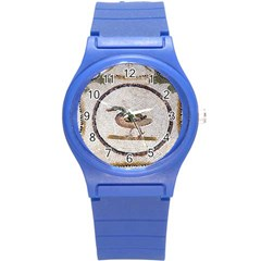 Sousse Mosaic Xenia Patterns Round Plastic Sport Watch (S)