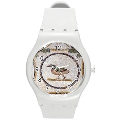 Sousse Mosaic Xenia Patterns Round Plastic Sport Watch (M)