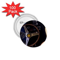 Steering Wheel Ferrari Blue Car 1.75  Buttons (100 pack)