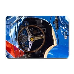 Steering Wheel Ferrari Blue Car Small Doormat