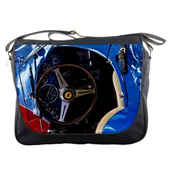 Steering Wheel Ferrari Blue Car Messenger Bags
