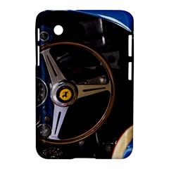 Steering Wheel Ferrari Blue Car Samsung Galaxy Tab 2 (7 ) P3100 Hardshell Case