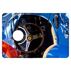Steering Wheel Ferrari Blue Car Kindle Fire HDX Flip 360 Case