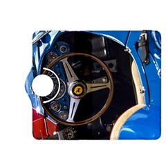 Steering Wheel Ferrari Blue Car Kindle Fire HDX 8.9  Flip 360 Case