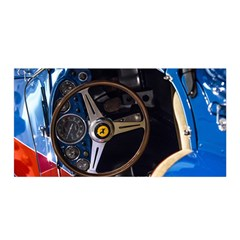 Steering Wheel Ferrari Blue Car Satin Wrap