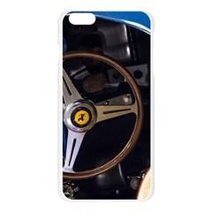 Steering Wheel Ferrari Blue Car Apple Seamless iPhone 6 Plus/6S Plus Case (Transparent)