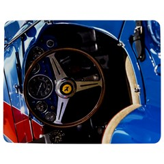 Steering Wheel Ferrari Blue Car Jigsaw Puzzle Photo Stand (Rectangular)