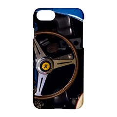 Steering Wheel Ferrari Blue Car Apple iPhone 7 Hardshell Case