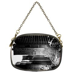 Urban Scene Street Road Busy Cars Chain Purses (Two Sides)