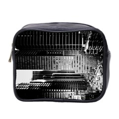 Urban Scene Street Road Busy Cars Mini Toiletries Bag 2-Side