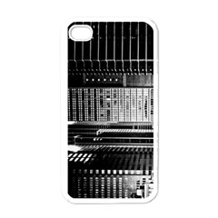 Urban Scene Street Road Busy Cars Apple iPhone 4 Case (White)