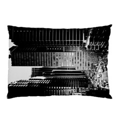Urban Scene Street Road Busy Cars Pillow Case (Two Sides)