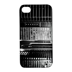Urban Scene Street Road Busy Cars Apple iPhone 4/4S Hardshell Case with Stand