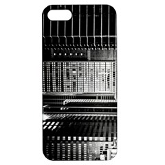 Urban Scene Street Road Busy Cars Apple iPhone 5 Hardshell Case with Stand
