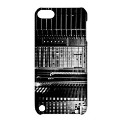 Urban Scene Street Road Busy Cars Apple iPod Touch 5 Hardshell Case with Stand