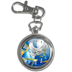 Turtle Doves Christmas Key Chain Watches