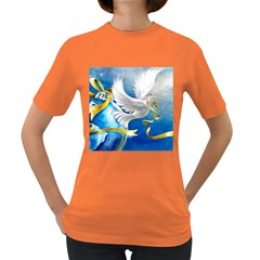 Turtle Doves Christmas Women s Dark T-Shirt