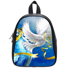 Turtle Doves Christmas School Bags (Small)