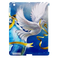 Turtle Doves Christmas Apple iPad 3/4 Hardshell Case (Compatible with Smart Cover)